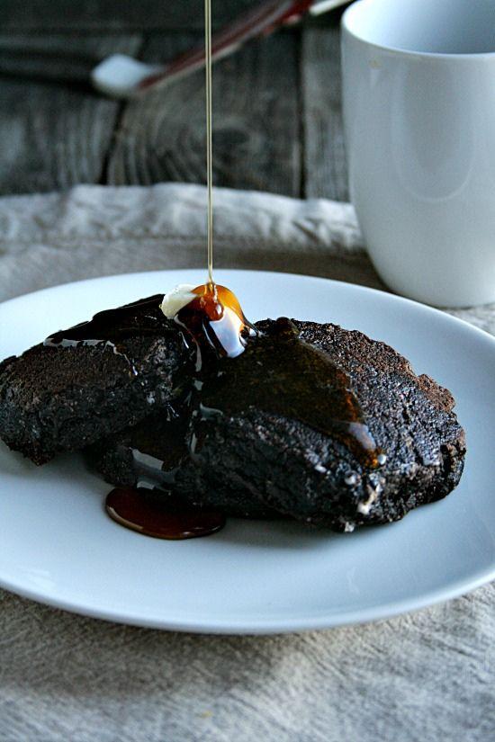 Chocolate Gingerbread Pancakes | Pancake day! | Pinterest