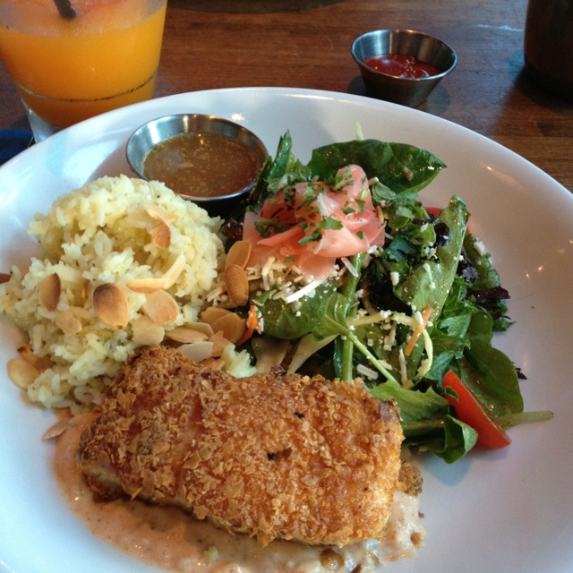 Potato crusted halibut @ Browns | W[h]ine & Dine | Pinterest