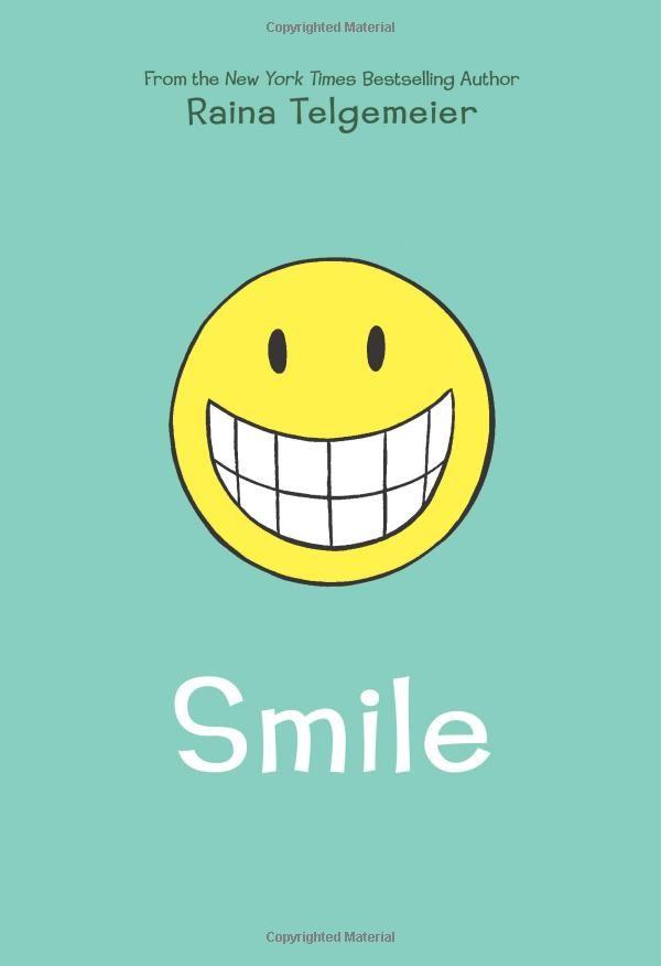 Smile by Raina Telgemeier (2010, Paperback)