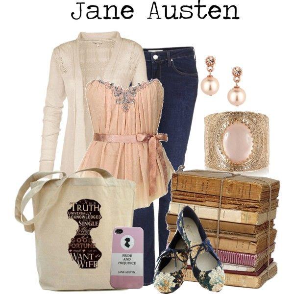 Jane Austen By Charlizard On Polyvore Jane Austen