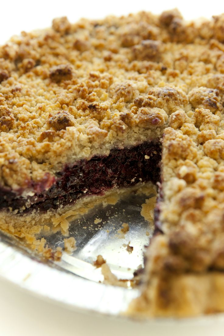 SusieCakes' blueberry crumble pie | CELEBRATE Spring | Pinterest
