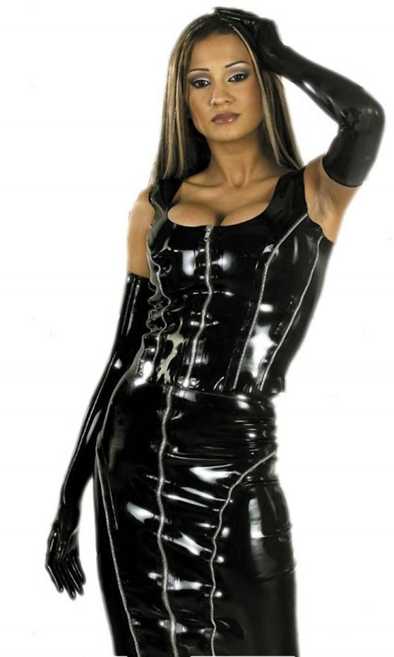 Erotic leather wear