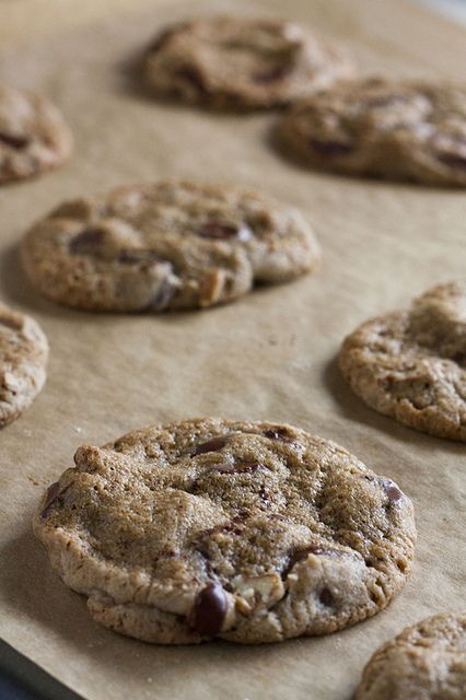 buckwheat choc chip cookies   Mostly Chocolate and Desserts   Pintere ...