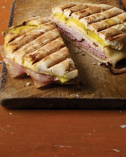 Cubano sandwiches - have these with sweet potato fries!