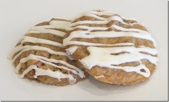 Maple Glaze Drizzled Maple Pecan Cookies @Baking and Boys!