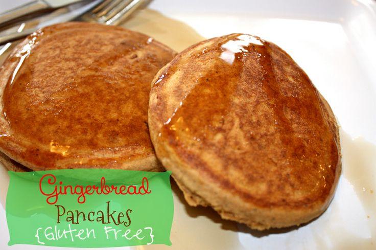 Gingerbread Pancakes - Gluten Free