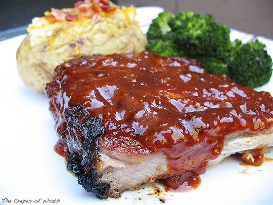 Oven Baked BBQ Pork Ribs | Recipes | Pinterest