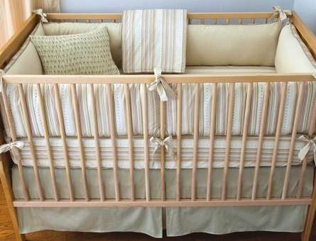 Asparagus Elliot Crib Bedding - 3 Piece Set