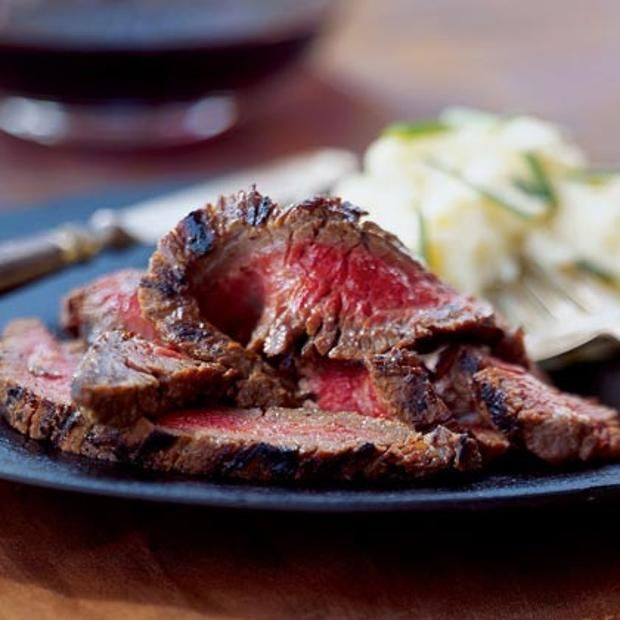 Wasabi-Miso Marinated Flank Steak | STEAK | Pinterest