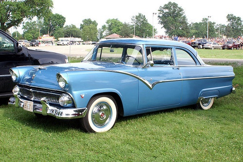 1955 ford 2 door by haarfager on flickr cars pinterest for 1955 ford 2 door