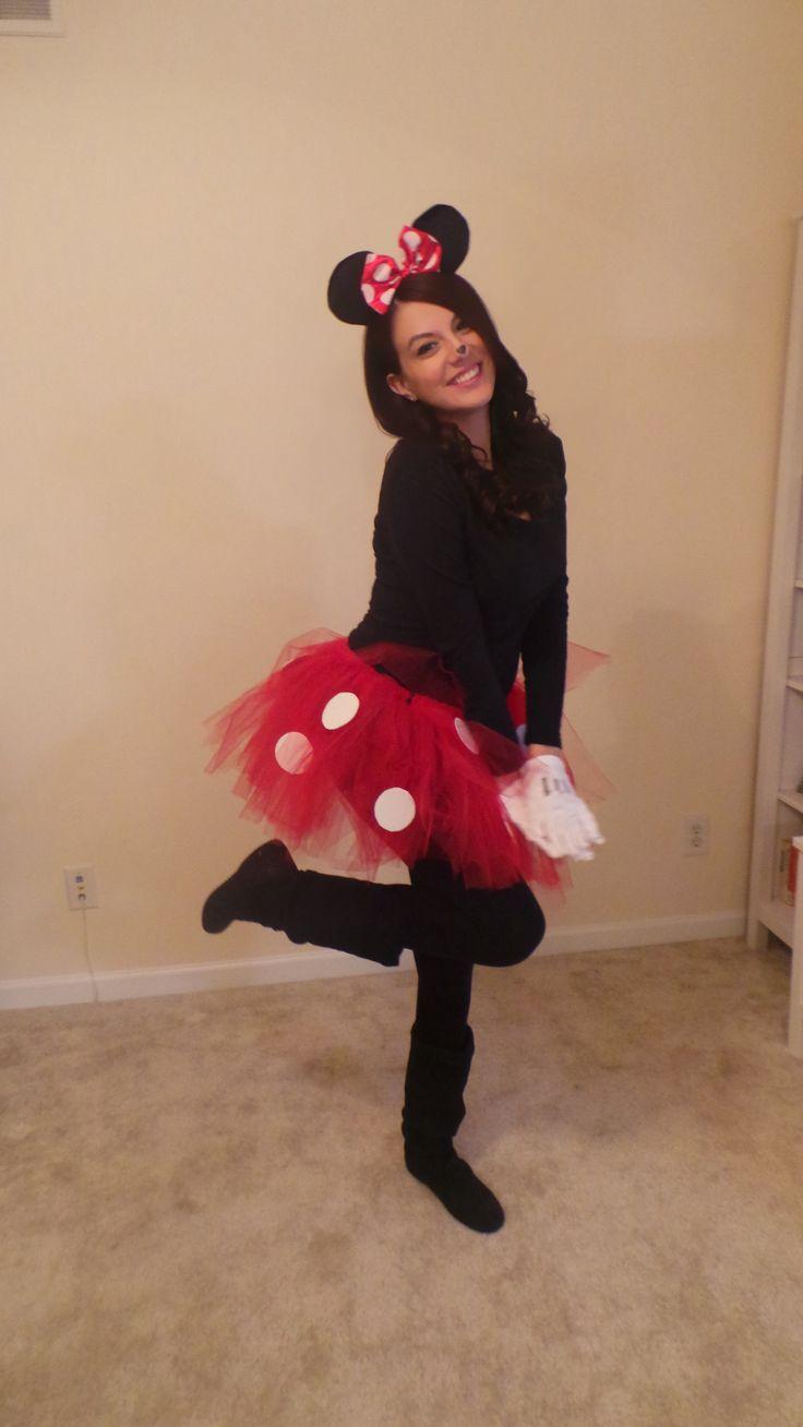 diy minnie mouse costume minnie mouse pinterest. Black Bedroom Furniture Sets. Home Design Ideas