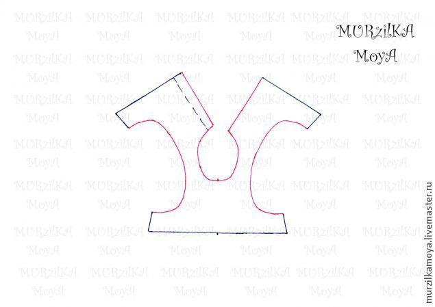 Выкройки платьев для мишек тедди 59