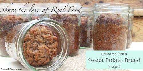Sweet potato bread in a jar | YUM!!!!! | Pinterest