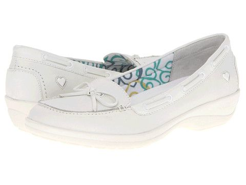 Nurse Mates Sara, White Nursing shoes, Non-skid
