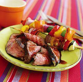 Bourbon & Brown Sugar Marinated Flank Steak
