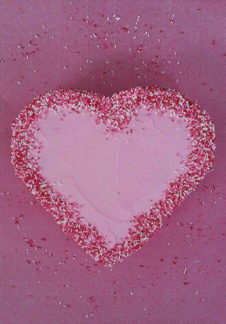 Red Velvet Sprinkles Heart Cake | Pinterest Food Inspirations | Pinte ...