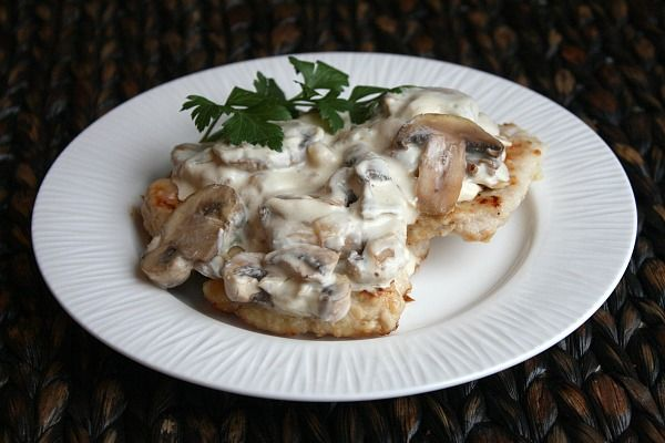 Pork Cutlets w/ Creamy Mushroom and Caramelized Shallot Sauce | Recipe