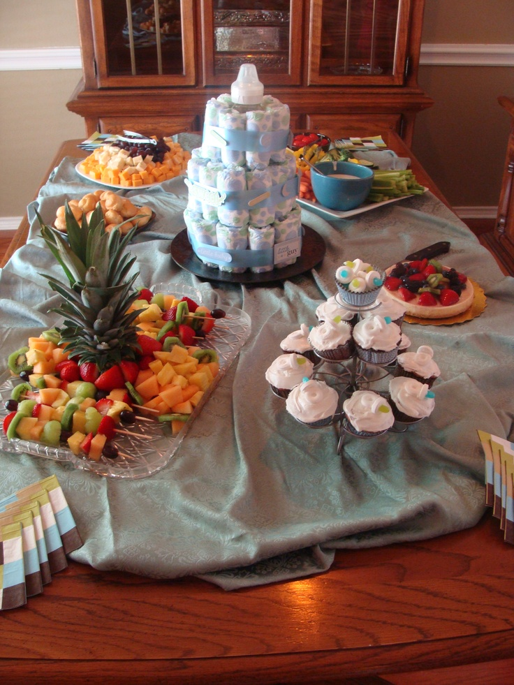 baby shower food table baby shower food pinterest