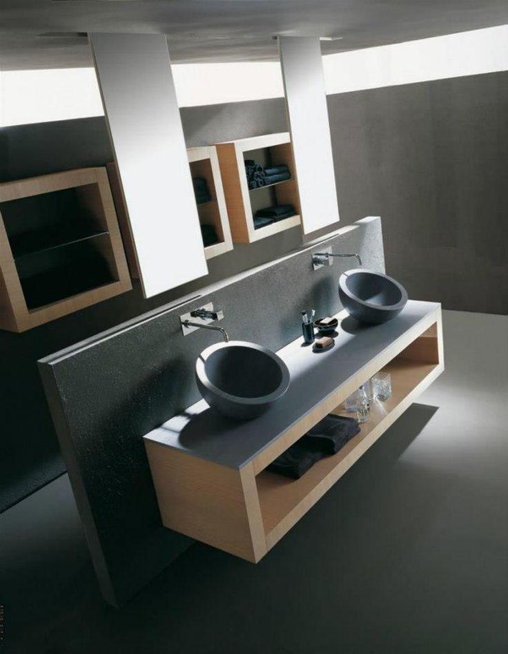 His & Hers Sinks Bathroom Furniture Pinterest
