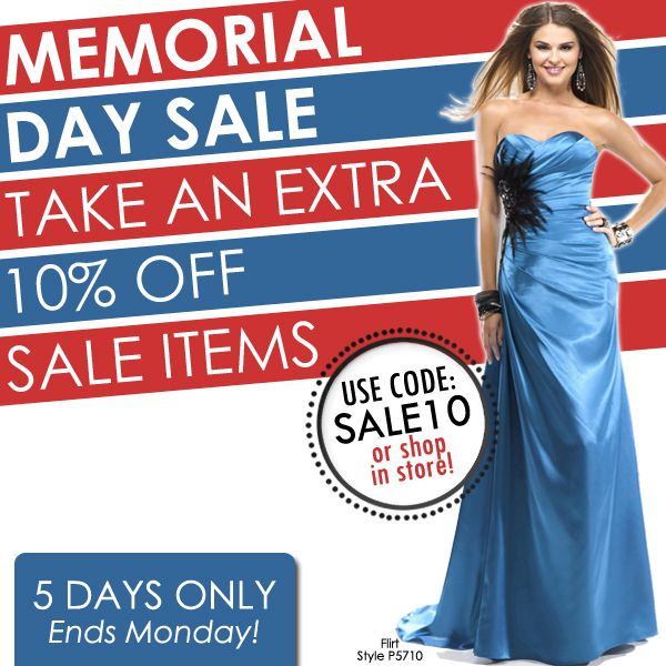 memorial day sales weekend