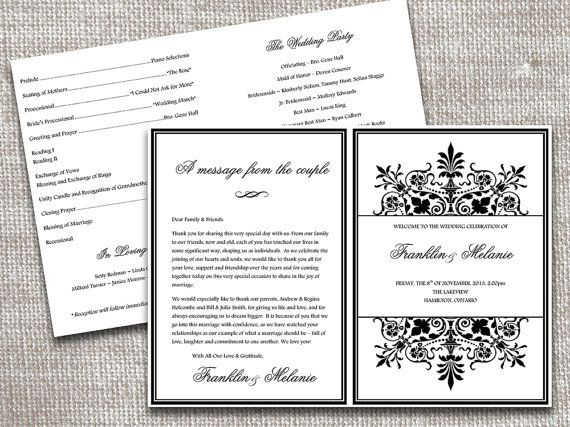 programs half fold party invitations ideas. Black Bedroom Furniture Sets. Home Design Ideas