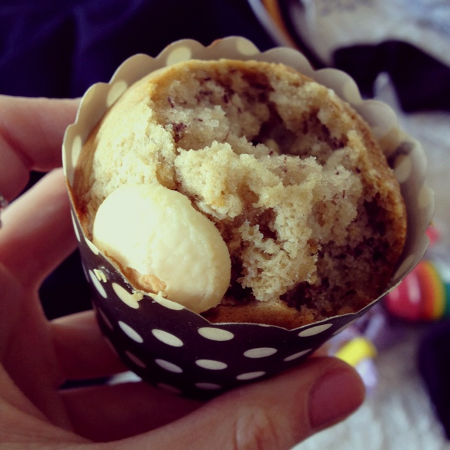 Banana white chocolate chip muffin | Food - general | Pinterest