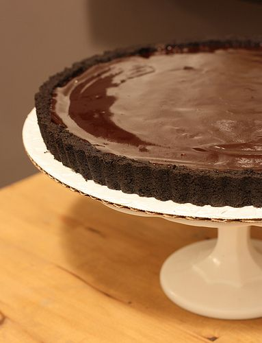 Chocolate Lovers Chocolate Glazed Tart | Recipes to Try | Pinterest