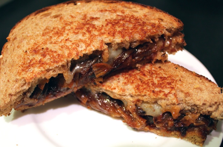 French Onion Grilled Cheese | Eat To Live, Live To Eat. | Pinterest