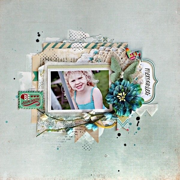 Be awesome *My Creative Scrapbook*