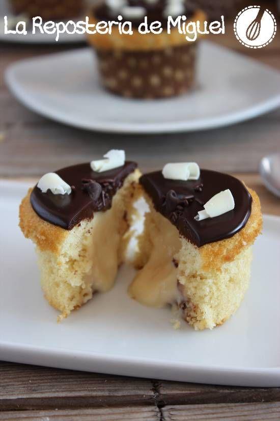 Boston Cream Cupcakes Recipes — Dishmaps
