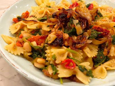 Pasta with White Beans & Escarole VERY easy, yummy, light week-night ...