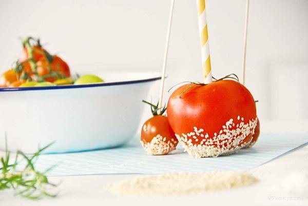 caramelized tomatoes | Noms | Pinterest