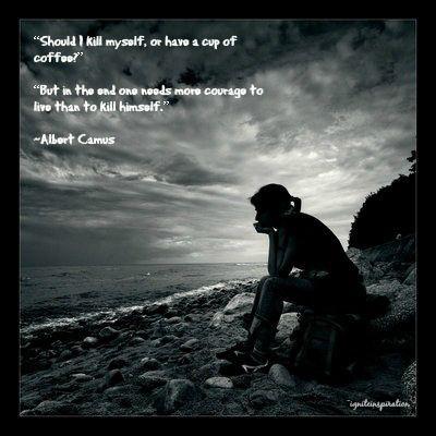 Albert camus essay on suicide