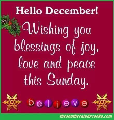 Hello December! God bless | Quotes | Pinterest