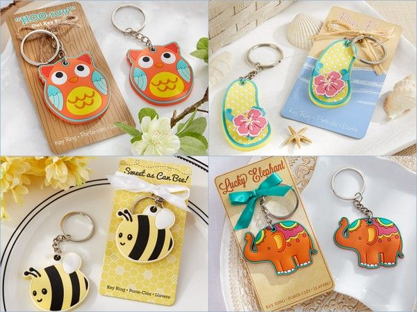 New Product Keychain Favors