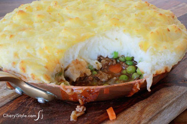 Easy shepherd s pie recipe with beef carrots amp peas
