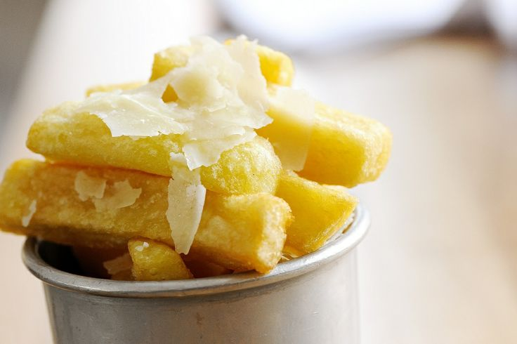 Triple cooked chips with truffle | Wine&Dine | Pinterest
