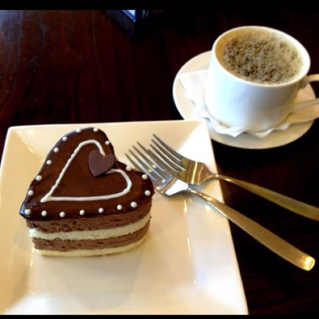 Valentines Day mousse | Coffee & Chocolate | Pinterest