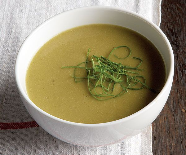 Chilled-Sorrel-Potato-and-Leek-Soup recipe