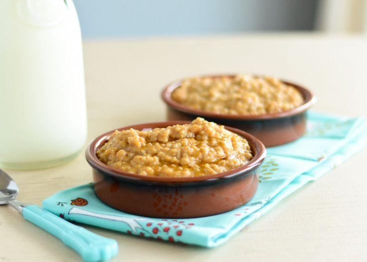 pumpkin spice oatmeal | Breakfast | Pinterest