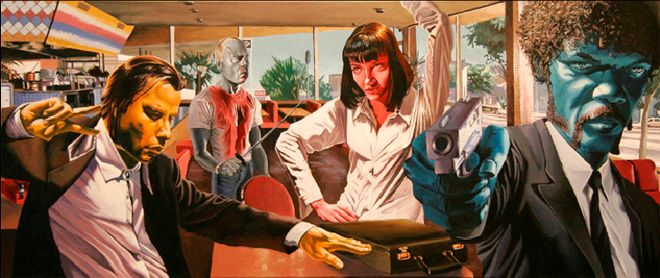 You Can't Argue With This Mashup That Shows The Tarantino Influence On ...