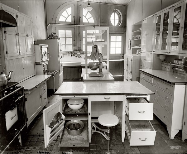 A 1920s kitchen so cool themed event ideas www for 1920 kitchen design ideas