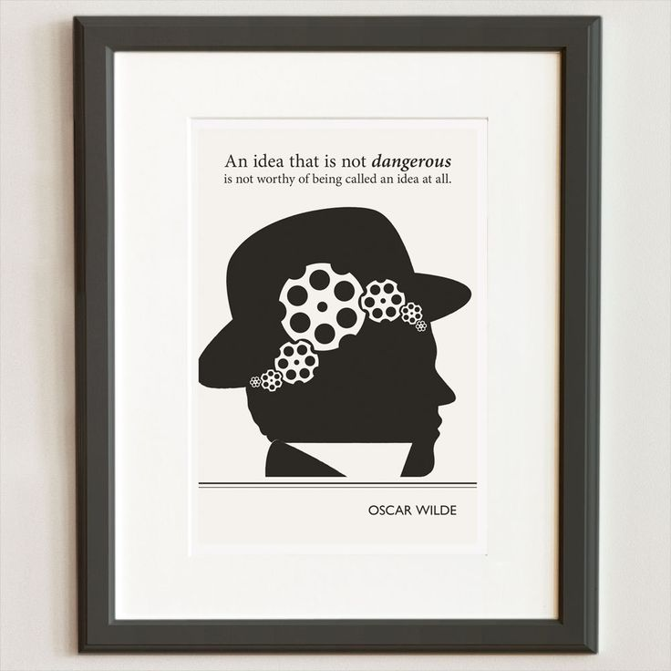 Illustration oscar wilde quote steampunk fine art prints for Art and decoration oscar wilde