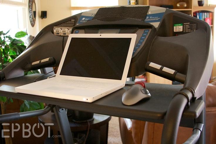 EPBOT: My Treadmill Desk
