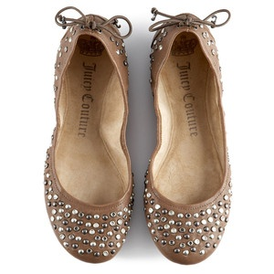 Juicy Couture Studded Ballerina Flats