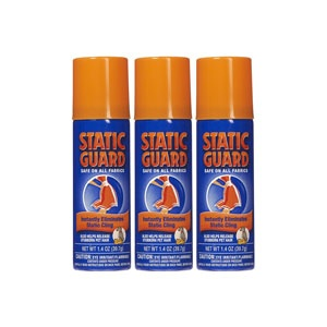 Keep Your Blinds Clean and Dust-Free - use an antistatic spray on blinds to keep dust from piling up