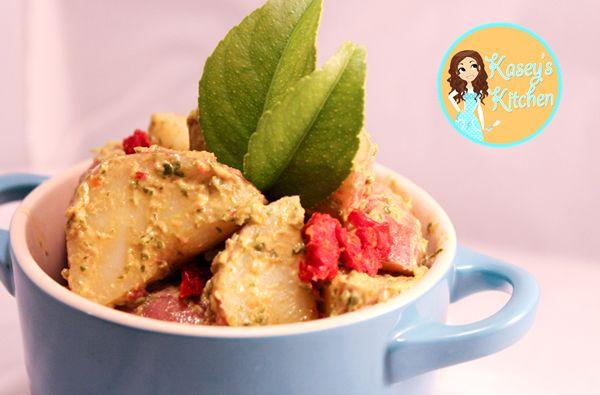 Sun-Dried Tomato Pesto Potato Salad | Nasoya
