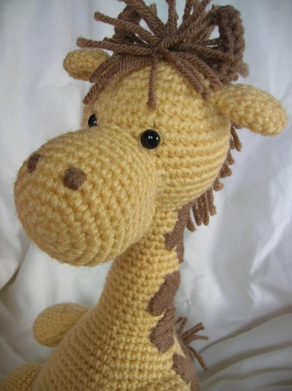 Amigurumi Free Pattern Giraffe : Girard the Giraffe - Amigurumi Pattern Amigurumi and ...