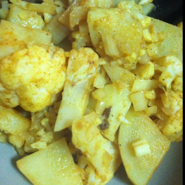 Indian Spiced Cauliflower And Potato Recipes — Dishmaps