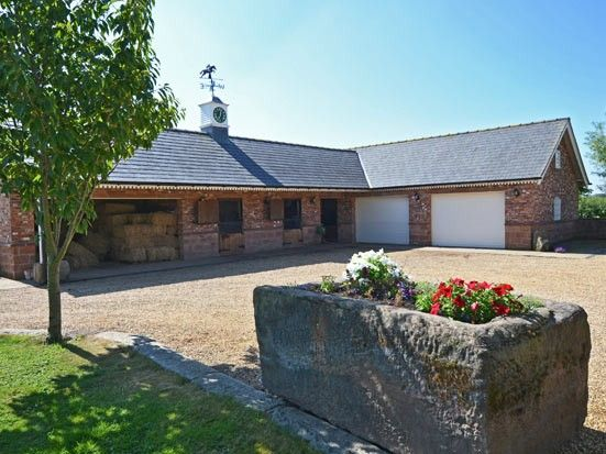 New brick stable block and garage stables equestrian for Garage block